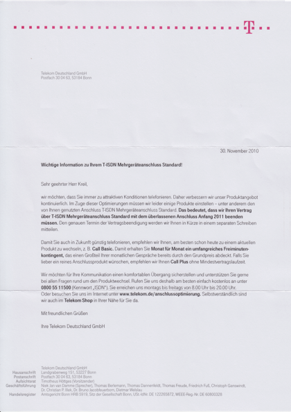 Schreiben Telekom ISDN-Standard.png