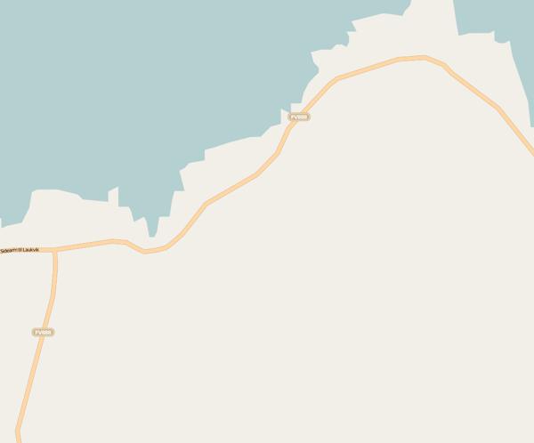 Die Umgebung von Straumnes in OpenStreetMap