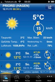 Weather Pro Samstag