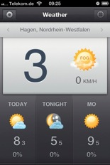 Weather Sonntag